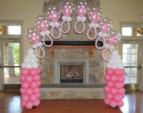 Baby Shower Diy Decorations by Decoraci 243 N Para Baby Shower Con Globos 100 Im 225 Genes Ideas