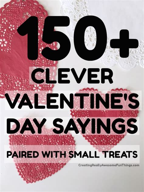 s day says 150 clever valentines day sayings c r a f t