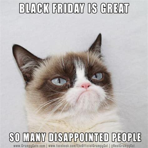 Grumpy Cat Friday Meme - black friday cats grumpy cat pinterest