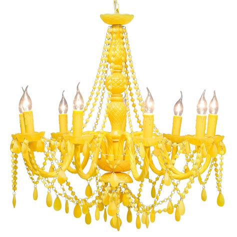 Yellow Chandelier home and beautiful side up zsazsa bellagio like no other