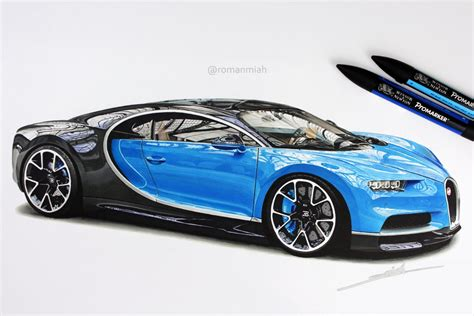 bugatti car drawing bugatti veyron drawing idee immagine auto