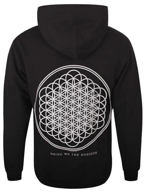 Hoodie Zipper Birng Me The Horizon Cloth 1 Bring Me The Horizon Sempiternal S Black Bmth Zipped