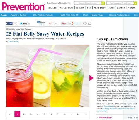 Does Detox Flat Tummy Recipe Work by Water With Attitude Sassy Water Alternatives No Chill