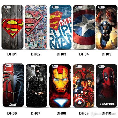 Casing Iphone 5 5s Superman L0141 marvel superman cover for iphone 8 batman