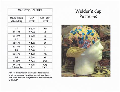 welding cap sewing pattern free image collections craft 14 best sewing welding caps images on pinterest sewing