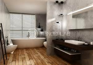Virtual Bathroom rendering bagno hotel renderlab it