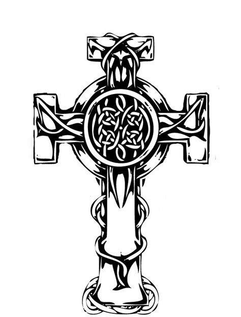 cool celtic cross tattoos celtic tattoos and designs page 51