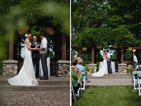 Backyard Wedding Michigan Handmade Michigan Wedding Green Wedding Shoes Wedding