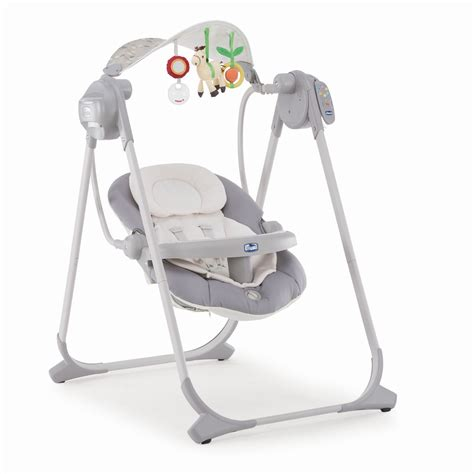 chicco baby swing polly swing up 2018 silver buy at