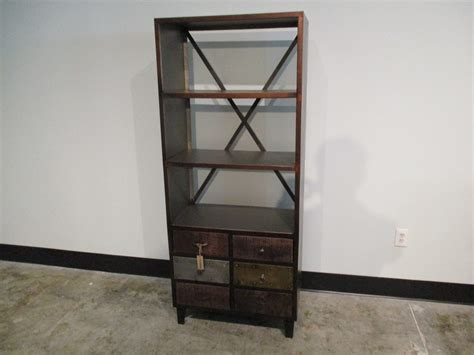 iron and wood bookcase iron and wood bookcase nadeau charleston