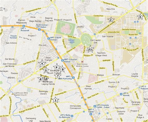 map of quezon city quezon city hotels for wedding preps the of a