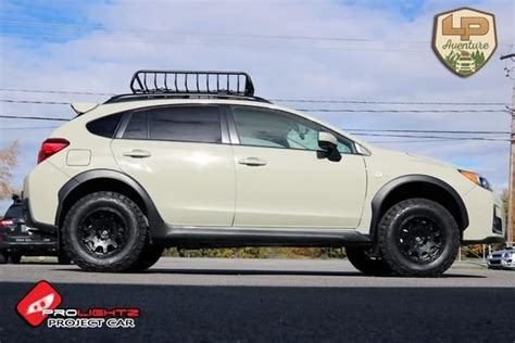 subaru crosstrek lifted blue 2016 crosstrek prolightz project car subaru models