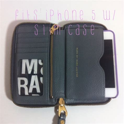 Marc Jacob For Iphone 5 S By marc by marc sold mbmj wingman iphone 5 wallet