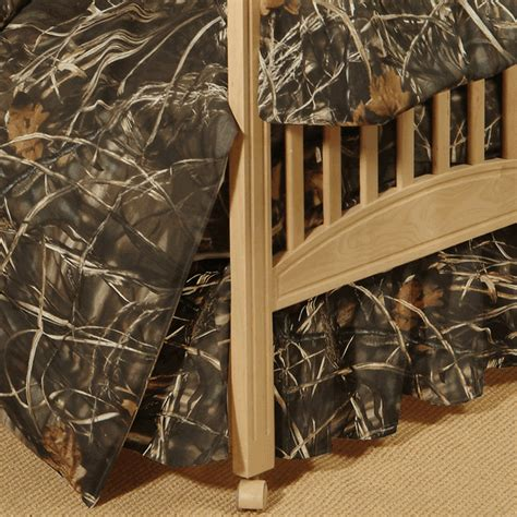 Max 4 Camo Crib Bedding by Realtree Camo Bedding Realtree Max 4 Crib Bedskirt Camo