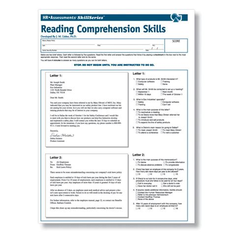 reading comprehension test online for cat workplace reading comprehension online test