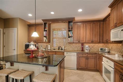 overhead kitchen cabinets what size kitchen cabinets for 9 foot ceilings