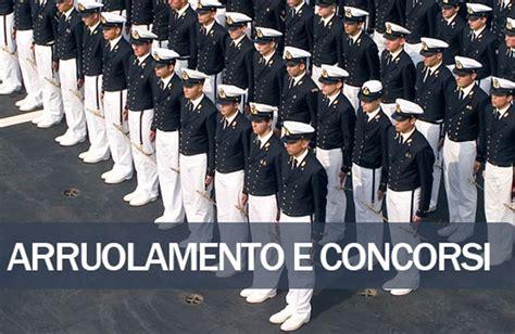 concorso per entrare in come entrare in marina militare tutti i concorsi