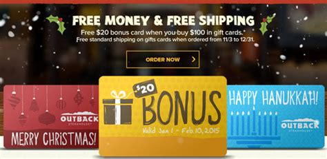 Applebee S Restaurant Gift Cards - holiday gift card specials at restaurants eatdrinkdeals