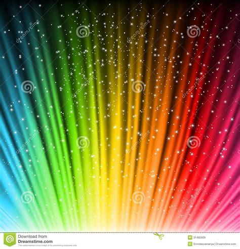 imagenes de arcoiris shine rainbow background with stars vector stock vector image 31485909
