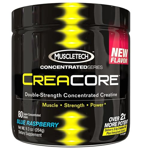 4 scoops of creatine muscletech creacore concentrated series creatine lemon lime