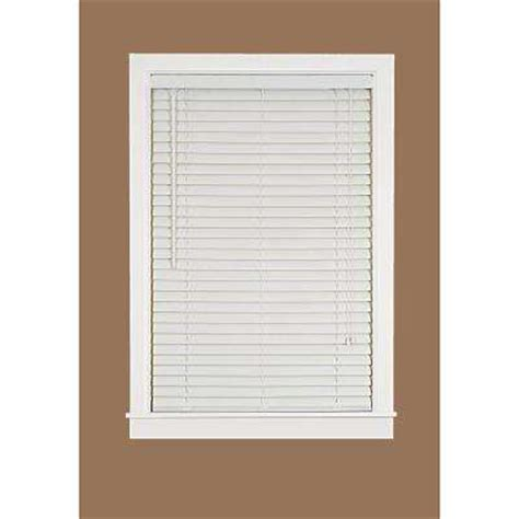 brown vinyl mini blinds mini blinds the home depot