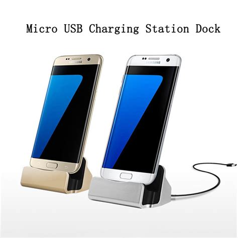 Charger Samsung Note 4 Note 5 S6 S7 Zenfone 2 Fast Charging Original new miro usb charger station for samsung s6 s7 edge note 4 5 xiaomi charging stand