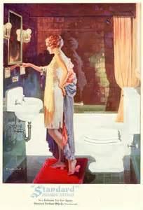 Custom Bathtub Sizes Vintage 1920s Art Deco Flapper Bathroom By