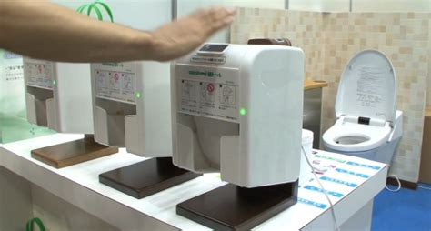 Tissue Dispensing Robot On The Prowl In Japan by Automatic Toilet Paper Dispenser For Germophobes