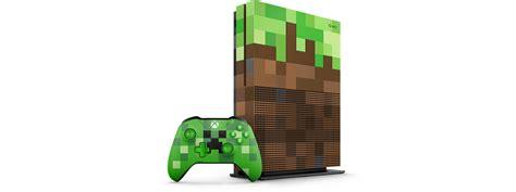 Xbox One Minecraft xbox one s minecraft limited edition bundle 1tb xbox