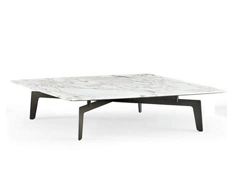 Tribeca Square Coffee Table By Poliform Design Jean Marie Square Marble Coffee Table