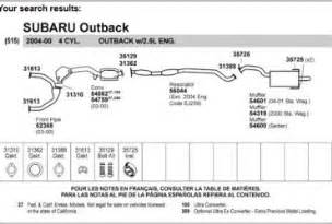 2000 Subaru Outback Exhaust System Diagram 110cc Atv Wiring Diagram Wedocable