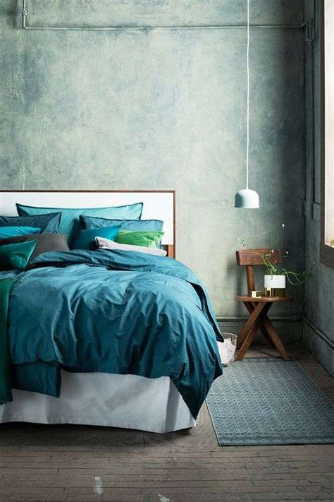 colore verde per da letto idee per arredare la da letto con il verde petrolio