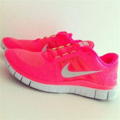 nike neon pink running shoes nike free run 3 womens running shoe punch neon pink