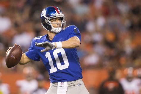 Mba Giants by Eli Manning No 11 In Espn S Tier Rankings