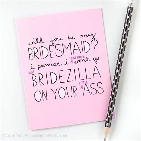 asking to be my 14 ways to pop the question quot will you be my bridesmaid