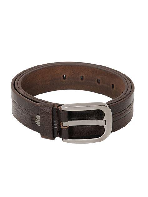 genuine designer leather brown belt b 1275