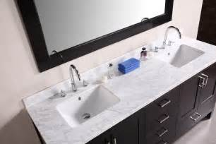 bathroom vanity with top and sink triangle re bath which type of bathroom sink is right for