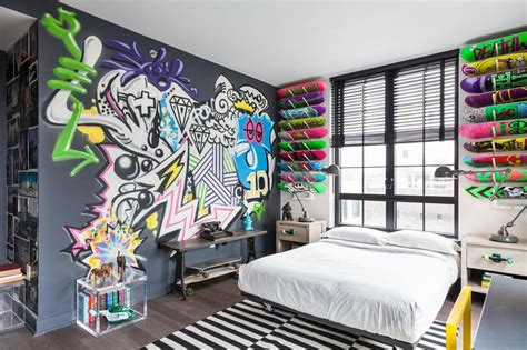 graffiti bedroom wall graffiti bedroom on pinterest boys skateboard room