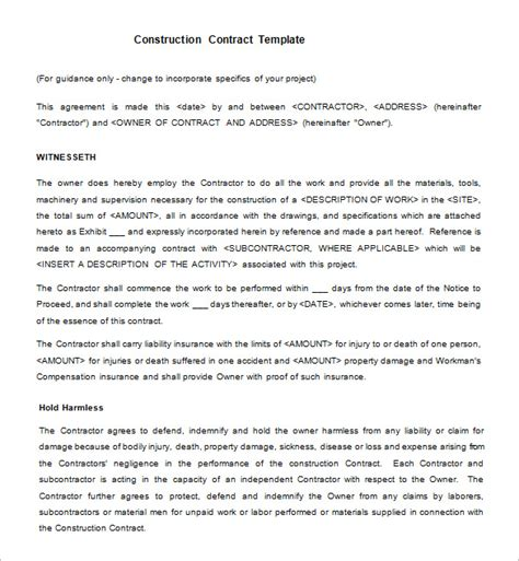 15 Legal Contract Templates Free Word Pdf Documents Download Free Premium Templates Legally Binding Contract Template