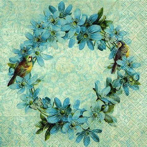 fiori per decoupage tovaglioli per decoupage ghirlanda di fiori 1pz