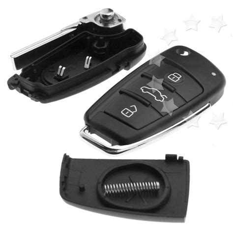 audi tt replacement key replacement of 3 button remote flip key fob shell blade