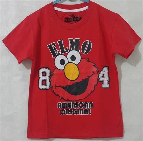 Baju Anak Branded Grosir 10 kaos anak karakter elmo aac99c20 kaos elmo new 1 6 disney setelan salur