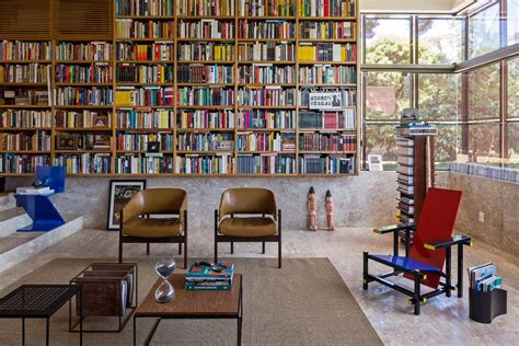 outdoor home library ideas photo 12 of 12 in 12 functional modern home libraries from