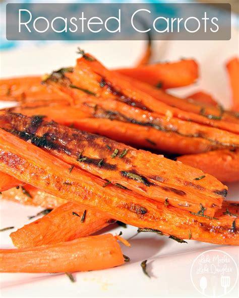 rosemary roasted carrots recipe dishmaps