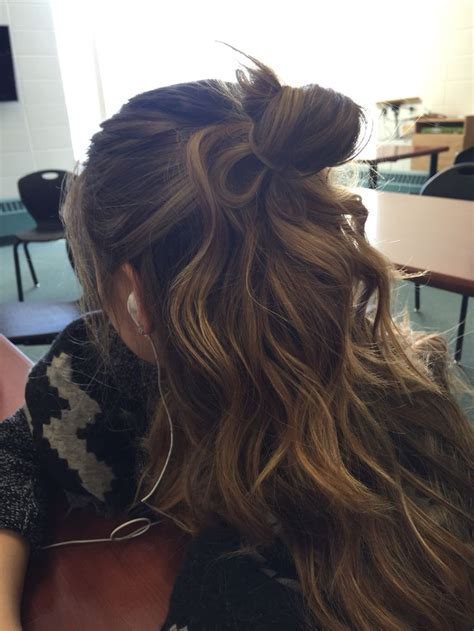 ombre half up half down hairstyles best 25 curling wand styles ideas on pinterest easy