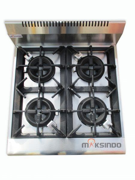 Oven Gas Malang jual counter top 4 burner gas range di malang toko mesin