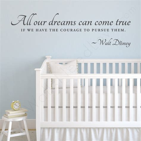 disney quote wall stickers walt disney wall quote decal wallsneedlove wall decals