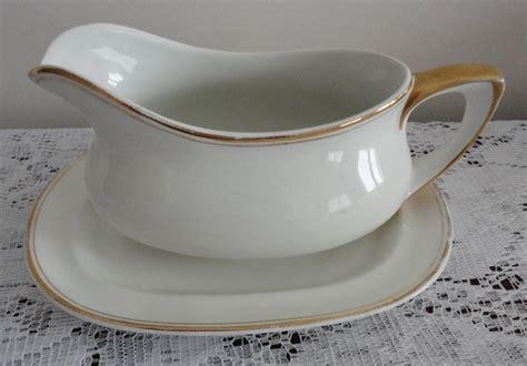 gravy boat movie vintage wedgwood white gold china gravy boat under plate