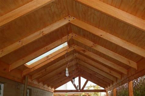 cobertizos con viga ala vista cobertizos fabricados en raul 237 roble pino radiata pino