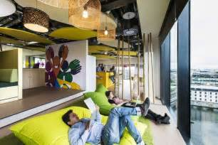 Green Colors For Bedrooms google campus in dublin dazzles with color and creativity